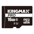 Карты памятиKingmax 16 GB microSDHC Class 10 UHS-I Pro KM16GMCSDUHSP1A