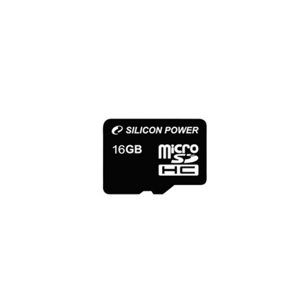 Silicon Power 16 GB microSDHC Class 2