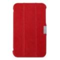 Чехлы и защитные пленки для планшетовi-Carer Чехол для Samsung Galaxy Tab3 7.0 RS320001 Red