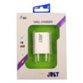 Зарядные устройства для мобильных телефонов и планшетовJust Trust USB Wall Charger (1A/5W, 1USB) White (WCHRGR-TRST-WHT)