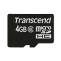 Карты памятиTranscend 4 GB microSDHC class 6 TS4GUSDC6