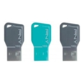 USB flash-накопители PNY 16 GB Key Attache Triple Pack (FDU16GBKEYCOLX3-EF)