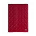 Чехлы и защитные пленки для планшетовJisoncase Quilted Leather Smart Case for iPad Air Red JS-ID5-02H30