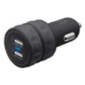 Зарядные устройства для мобильных телефонов и планшетовUrban Revolt Dual Smart Car Charger Black (20155)
