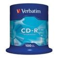 Диски CD, DVD, Blu-rayVerbatim CD-R 700MB 52x Spindle Packaging 100шт (43411)