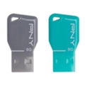 USB flash-накопители PNY 8 GB Key Attache Twin Pack (FDU8GBKEYCOLX2-EF)