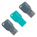 USB flash-накопители PNY 8 GB Key Attache Triple Pack (FDU8GBKEYCOLX3-EF)