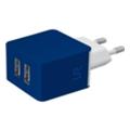 Зарядные устройства для мобильных телефонов и планшетовUrban Revolt Dual Smart Wall Charger Blue (20148)