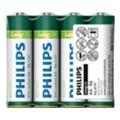 Аккумуляторы, батарейкиPhilips AA bat Carbon-Zinc 4шт LongLife (R6L4F/97)