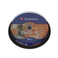 Verbatim DVD-R LightScribe 4,7GB 16x Cake Box 10шт (43643)