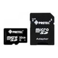 Карты памятиPretec 32 GB microSDHC Class 10 UHS-I + SD Adapter STSH32G-SA