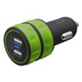 Зарядные устройства для мобильных телефонов и планшетовUrban Revolt Dual Smart Car Charger Lime (20158)
