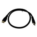 Кабели HDMI, DVI, VGADrobak HDMI на HDMI, 0.75м 1.4b V, позолота (212647)