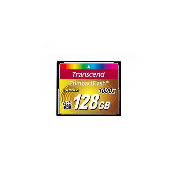 Transcend 128 GB 1000X CompactFlash Card