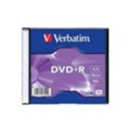 Verbatim DVD+R 4,7GB 16x Slim Case 1шт (43515)