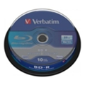Диски CD, DVD, Blu-ray Verbatim BD-R 25GB 6x Cake Box 10шт (43742)