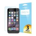 Защитные пленки для мобильных телефоновSpigen Screen Protector Crystal (3pcs of Front) for iPhone 6 Plus (SGP10873)