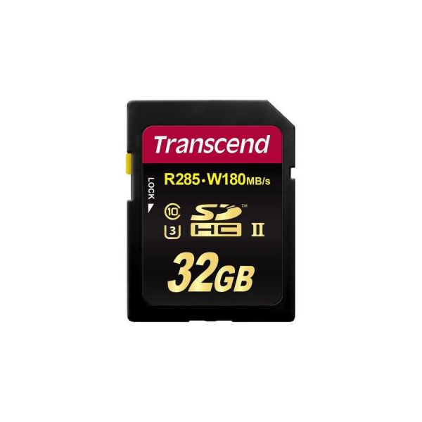 Transcend 32 GB SDHC UHS-II U3 Ultimate TS32GSD2U3