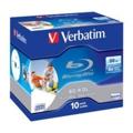 Диски CD, DVD, Blu-rayVerbatim BD-R DL Printable 50GB 6x Jewel Case 10шт (43736)