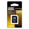 Карты памятиGoodRAM 32 GB microSDHC class 4 + SD Adapter