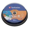 Verbatim DVD-R Printable 4,7GB 16x Spindle Packaging 10шт (43573)