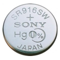 Sony SR916SW bat(1.55B) Silver Oxide 1шт