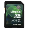 Карты памяти Kingston 16 GB SDHC Class 10 SD10V/16GB