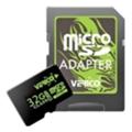 Карты памятиVerico 32 GB microSDHC Class 10 + SD adapter