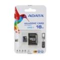 Карты памятиA-data 16 GB microSDHC UHS-I + SD adapter