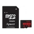 Карты памятиApacer 64 GB microSDXC Class 10 UHS-I R85 + SD adapter AP64GMCSX10U5-R