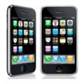 Apple iPhone 3GS. Спереди и слева.