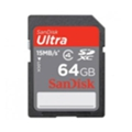 Карты памятиSanDisk 64 GB Ultra SDXC