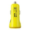 Зарядные устройства для мобильных телефонов и планшетовBaseus 2.1A Dual USB Car Charger Sport Yellow (CCALL-CR0Y)