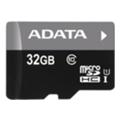 Карты памятиA-data 32 GB microSDHC UHS-I AUSDH32GUICL10-R