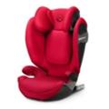 Детские автокреслаCybex Solution S-Fix Rebel Red