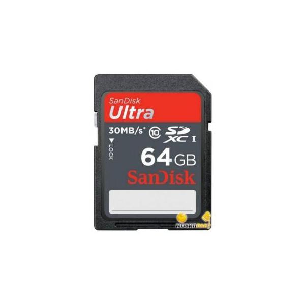 SanDisk 64 GB SDXC UHS-I Ultra SDSDUNC-064G-GN6IN