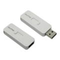 USB flash-накопители Qumo 8 GB Slider 01 White (QM8GUD-SLD 01-w)