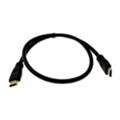 Кабели HDMI, DVI, VGADrobak HDMI на HDMI, 0.75м 1.3 V, позолота (212648)