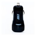 Just Simple Dual USB Car Charger (2.1A/2USB, 10W) Black (CCHRGR-SMP22-BLCK)