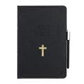 Чехлы и защитные пленки для планшетовOzaki O!coat Wisdom Bible Black для iPad mini (OC103BB)