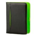 """Чехлы для электронных книгPocketBook Pocketbook Обложка для Pocketbook 6"""" черно-зеленая (HJLC-EP12-BK-BS)"""