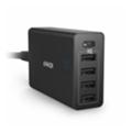 Зарядные устройства для мобильных телефонов и планшетовAnker PowerPort 5 USB-C 40W Hub Charger Black (A2052111)