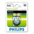 Philips AA 2700mAh NiMh 2шт MultiLife (R6B2A270/10)