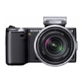 Цифровые фотоаппаратыSony Alpha NEX-5D 16 + 18-55 Kit