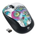Клавиатуры, мыши, комплектыLogitech Wireless Mouse M325 Lady on the Lily Black-White USB