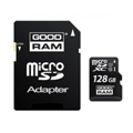 Карты памяти GoodRAM 128 GB microSDXC class 10 UHS-I + SD Adapter SDU128GXCUHS1AGRR10