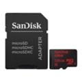 Карты памятиSanDisk 128 GB microSDXC UHS-I Ultra + SD adapter SDSQUNC-128G-GN6IA
