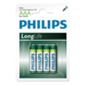 Philips AAA bat Carbon-Zinc 4шт LongLife (R03L4B/97)