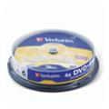 Диски CD, DVD, Blu-rayVerbatim DVD+RW 4,7GB 4x Cake Box 10шт (43488)