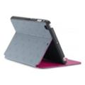 Чехлы и защитные пленки для планшетовSpeck StyleFolio iPad mini LoveSpace Nickel/Raspberry Pink (SPK-A2441)